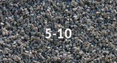 Щебень гравийный фракция 5-10