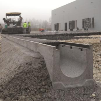 использование гранитного щебня при строительстве водостоков